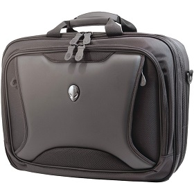 17.3 Inch Alienware Orion Airport Checkpoint Friendly Messenger Bag for Airplane Travel