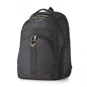 Everki Atlas Checkpoint Friendly Black 13-inch to 17.3-inch latop backpack adaptable compartment