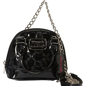 Loungefly Hellow Kitty Child Embossed Micro Dome Crossbody Bag.