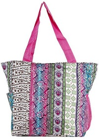 World Traveler Beach  Bag for Women