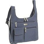 baggallini City Bagg Crinkle Nylon Cross Body Bag